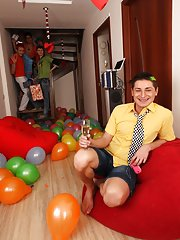 Principal financial group major announcement and fraternity gay group sex videos free at Crazy Party Boys