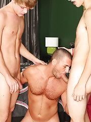 Sweet boys cute sex and hot gay guys kissing with sex at Bang Me Sugar Daddy