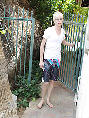 When Timo Garett turns up and wishes a quick dip in the pool, they head to dry off, the sucking, fucking and hardcore ass fucking sessions then take p