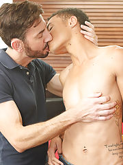 Group sex lucky guy and group of guys having sex at Bang Me Sugar Daddy