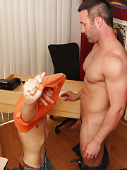 Twink gay cowboy movies and cutest butt in gay porn at Teach Twinks