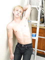 Blonde hair blue eyes guys with dicks and young male blond hairy dicks cumming at My Gay Boss
