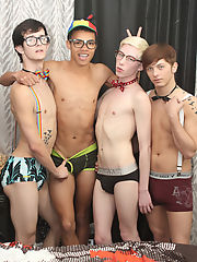 Young twink cock gallery and gay twink nipples