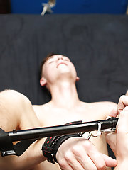 Conner Bradley and Hunter Starr have not ever filmed a bareback scene jointly and neither one has much if any experience with bondage, but they kill t