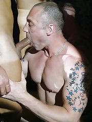 Never  has a sophomoric lad looked so happy to be submersed, surrounded and drowned in a drown of hot cock, cum, gob and sweaty ass cracks gay group s