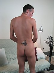 His load was creamier than Jacobs black gay blowjob seductio