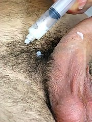 The doctor saw that I was precumming a little bit, and touched it gay men first time sex