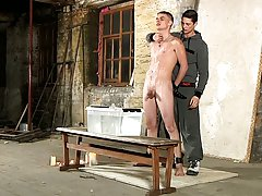Twinks castration play and cock...