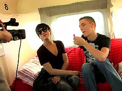 We pick up Kyler Moss on the Boycrush bus and Dylan Chambers shows him 10 inches of a valuable time free stories of a young boy