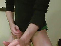 Twink sucking guy underwear...