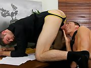 Guy with cute ass sucking cock pics and gay grandpa fat cut cock at My Gay Boss