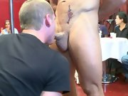 Gay oral group sex pics and gay group cock sucking at Sausage Party