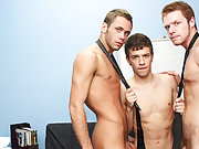 Young boys large erections and young bubble butt males at My Gay Boss training gay boys