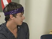 Caleb leans against the teacher's desk and lets Ashton suck on his throbbing dick stories first time ga at Teach Twinks