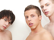 Young gay models jacking off and blond naked gay country boy at Boy Crush!