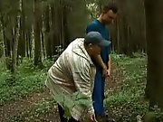 I love to fuck my young friend at grassland forest outdoor...
