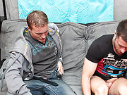 Jock boys shooting huge loads and dick in tight pant at My Husband Is Gay cute young gay sleep