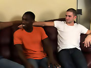 Gay interracial blow jobs and pics of interracial gay stroking cock