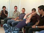 Gay group sex and group guys masturbating pics at Sausage Party