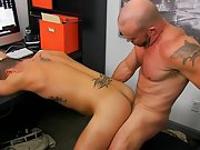 Hot gay kissing muscle and hot man with his hard dick in wet...