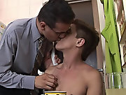 Soon, the toned undressed twink was getting his yummy aperture rimmed � and then screwed hard hot gay twink videos