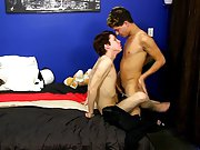 The infamous Angel Kelly is back anew for one more round and he's got all fresh boys to play with gay sex twink homemade