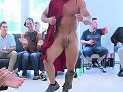 Yahoo group gay bukkake and hot gay hunk group sex at Sausage Party