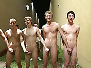 Naked shove ups, wrestling and sit ups are among some of the things those poor want to be frat guys had to survive in order to call themselves brother