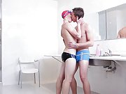 Gay twinks fill their underpants with their sperm and free gay...