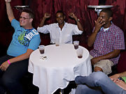 Straight men pissing in groups and gay group sex videos at Sausage Party