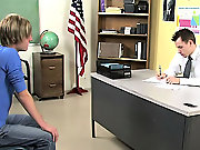 Young twink and older gay doctor video and twinks in the snow with a semi at Teach Twinks