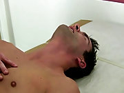 Gay twink boy gets ass fill full of cum and twinks stripped bare