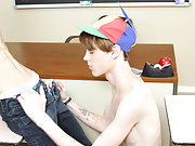 Cute twinks wetting in pants and gay cut twinks at Teach Twinks