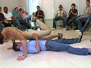 Gay stories group orgy and gay group masturbation at Sausage...