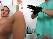I changed to jerking him off, while the Doc working on getting a tool ready to exam his prostate male virgins first fistin