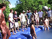 there is nothing like a nice summer time splash, especially when the pool is man made and ghetto rigged as fuck male wack off jo grou