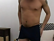 Aroused by sexy images from a magazine Agustin feels irresistible urge to go for his little crossdressing session men masturbation movies