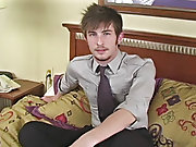 UK lad Justin is back in his 2nd video amateur nude gay male