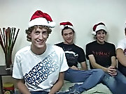 ZACH, MIKE, CODY & LUKE Have a Merry Christmas and let me positive what you invent of the endure scene in the christmas shoot gay male twinks nude
