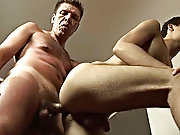 The twink was working hard on the cock while his partner reached in search his constricting spicy ass which without delay got filled to the gunwales w