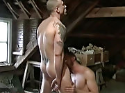 There's nothing these pure 100% male specimens wont do to each other - and the unmusical, sweaty, man on man fucking makes you glad your gay hunk