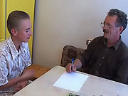 But when he came, he understood that math was not the thing this horny tutor would teach him sexy mature gay