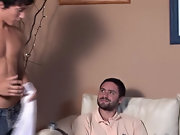 Having received a class A blowjob, the hunk decided on returning the pleasure mon boy sex