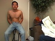 Ben's starving and hoping to get a modeling job to meet the bills hairy nude gay hunks